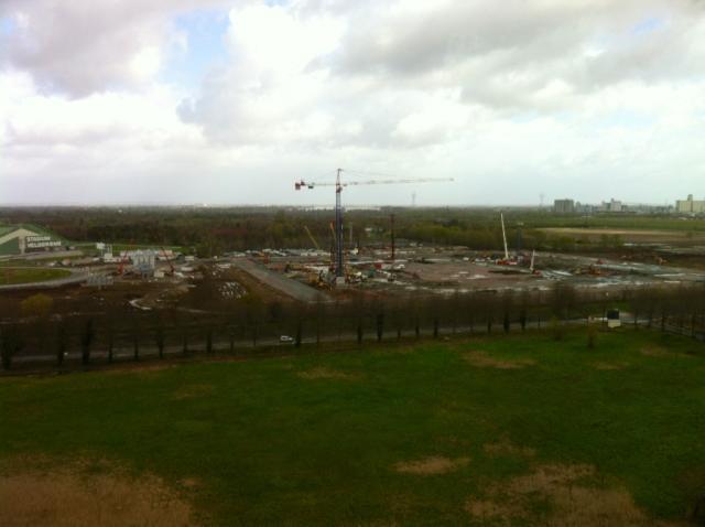 Grand Stade : image du chantier