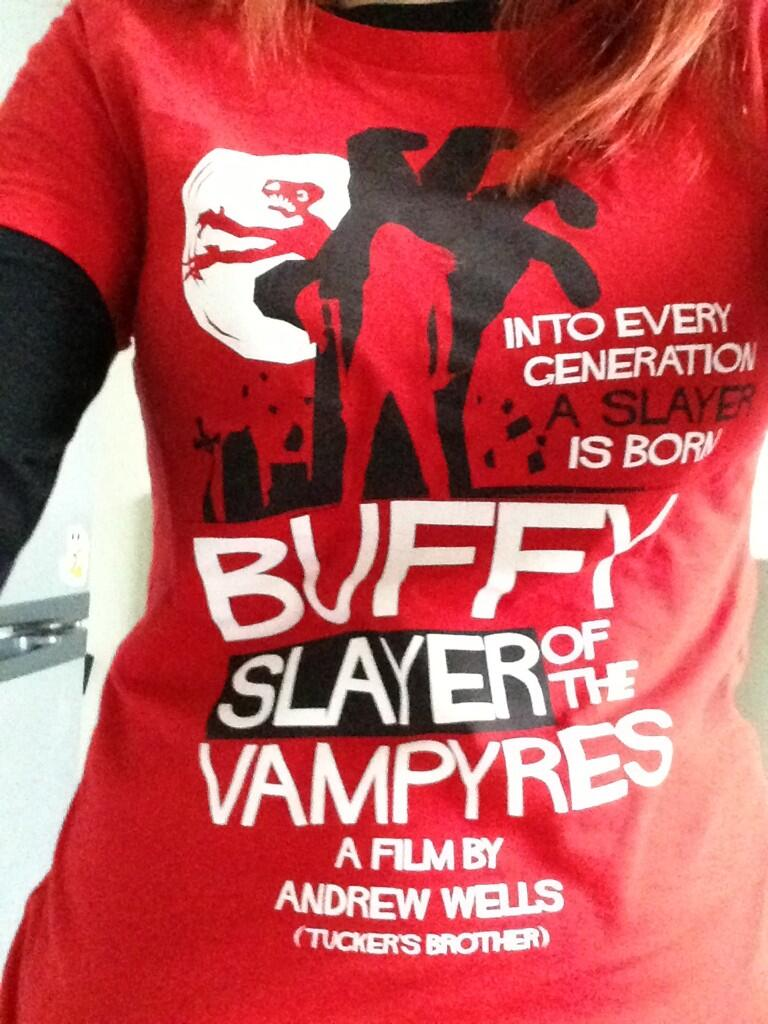 Buffy slayer of the vampyres tee
