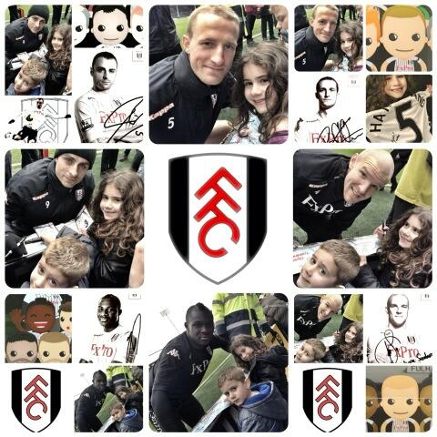 Great day at @FulhamFC open training session at the cottage today #FulhamOpenTraining #FFC #Closer pic.twitter.com/7Axv5UhzrO