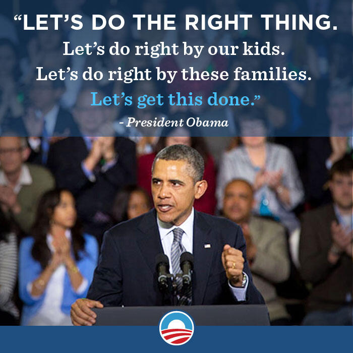 Twitter / BarackObama: RT if you agree: All our kids ...
