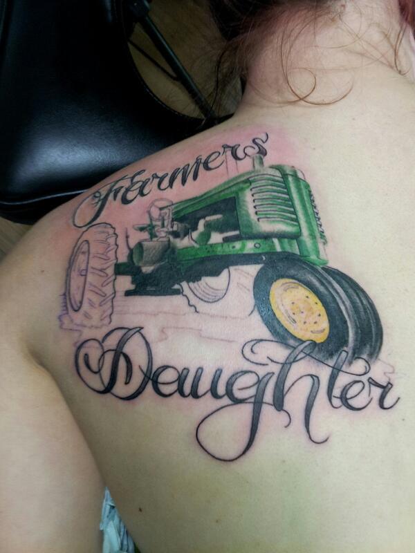 John Deere Tractor Tattoos Ideas : Marcel labbee mlabbee twitter