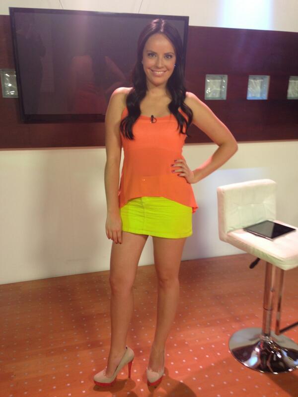 Katherine Torres, presentadora de sweet