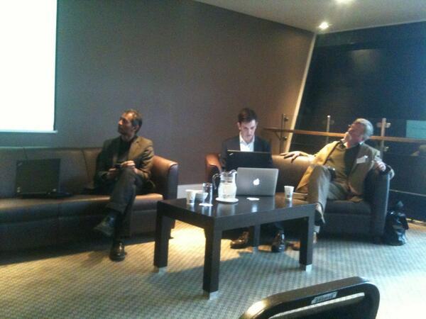Great talks from John Dominguez, Nick Campbell, @BarryNorton & Marko Grobelink in #edf_13 pic.twitter.com/3wdLFtIjbQ