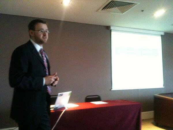 Ed Curry presenting big-project.eu at #EDF_13 #edf_13 pic.twitter.com/FsBCCNRCeZ