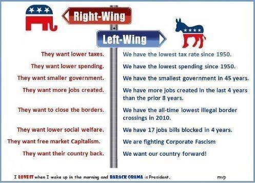 Difference Between Right Wing and Left Wing