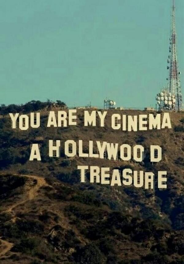 You are.. my Cinema... i could watch you forever... http://t.co/R9iNqtdQQh