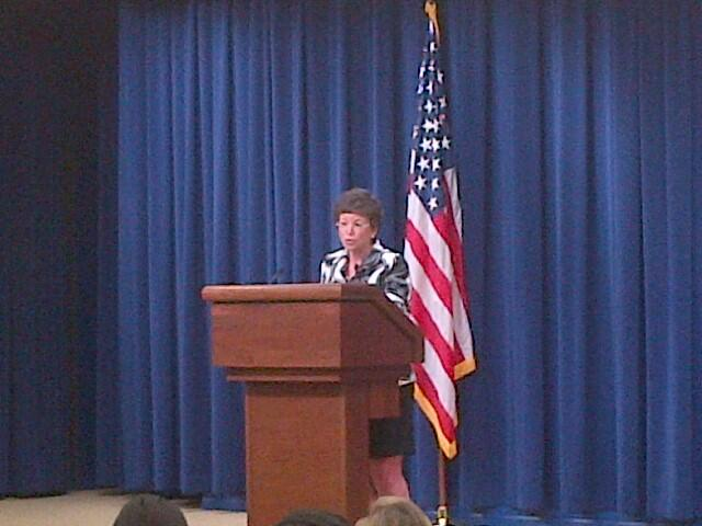 Twitter / SRidge: @whitehouse's Valerie Jarrett ...