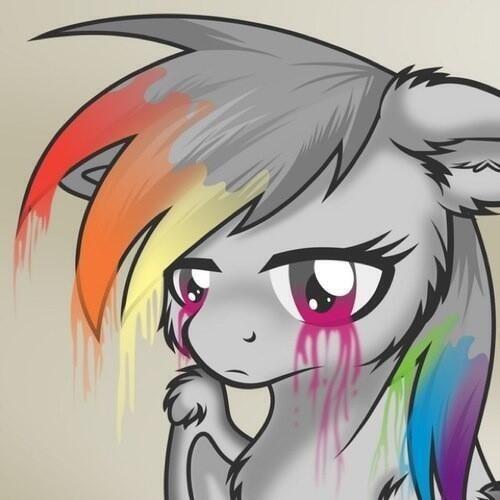 depressed fluttershy - photo #21