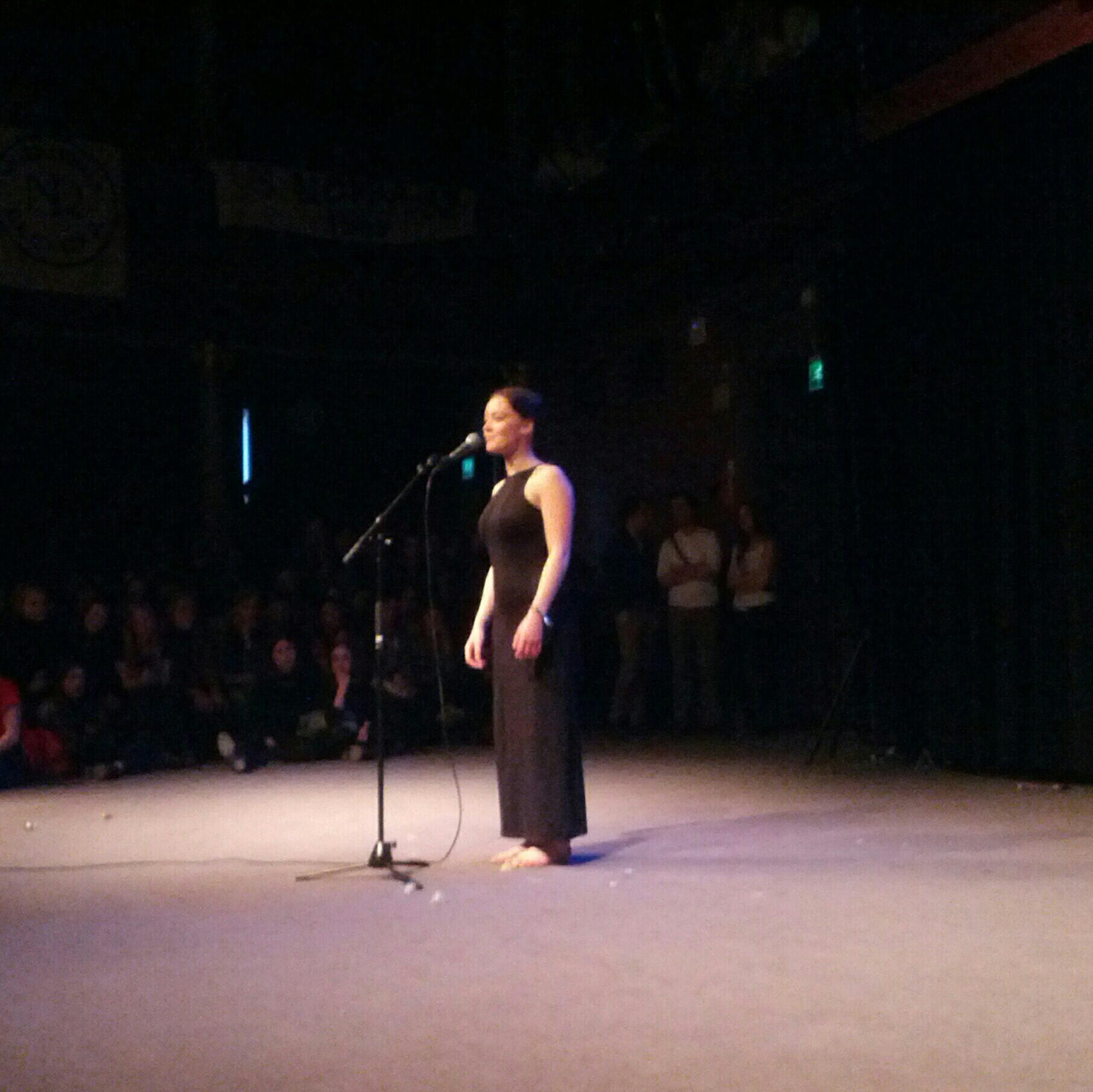 "Amalia Holm Bjelke kzine on twitter: ""amalia holm bjelke in the poetry slam. go"