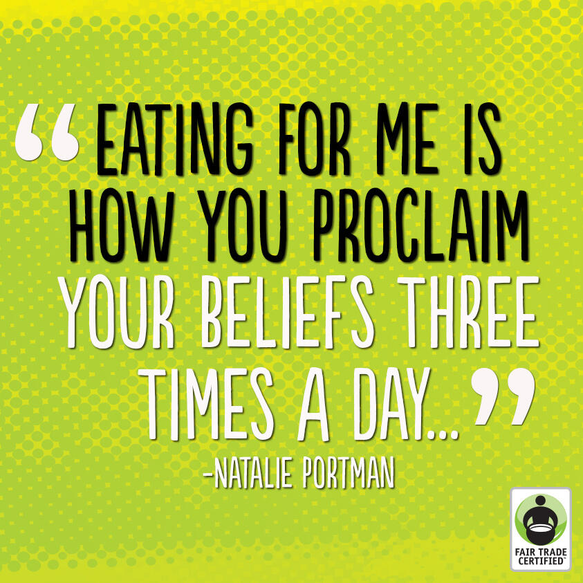 Twitter / FairTradeUSA: RT if you agree: #FairTrade ...