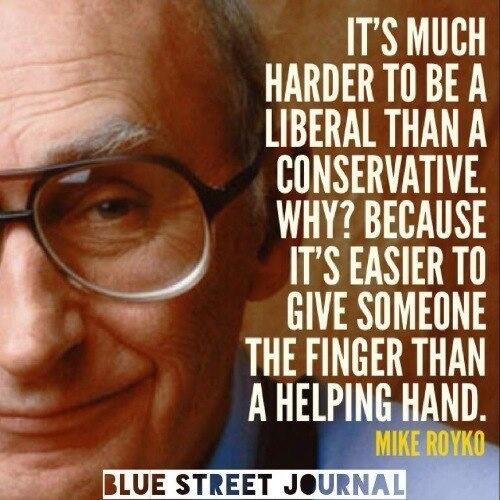 Why is it harder to be a liberal than a conservative? http://t.co/Kj2NoSuXAg