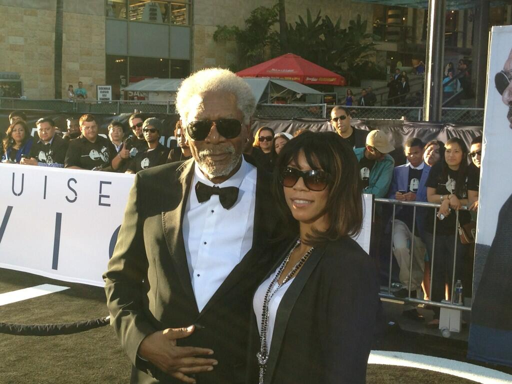 Twitter / OblivionMovie: Morgan Freeman has arrived ...