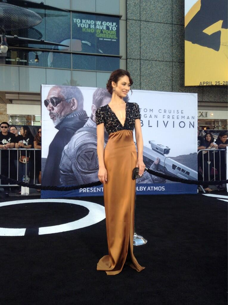 Twitter / OblivionMovie: @OlyaKurylenko arrives on the ...