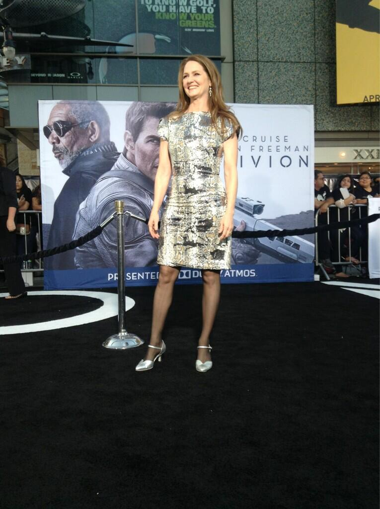 Twitter / OblivionMovie: Oscar winner Melissa Leo arrives ...