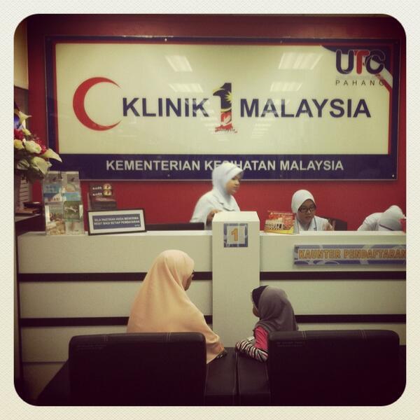 Pelatih Ilkkm On Twitter Klinik 1malaysia Di Utc Kuantan Pahang Http T Co F9pyq7m7sr