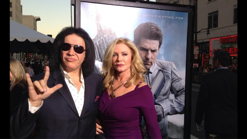 Twitter / OblivionMovie: . @genesimmons rocking on at ...
