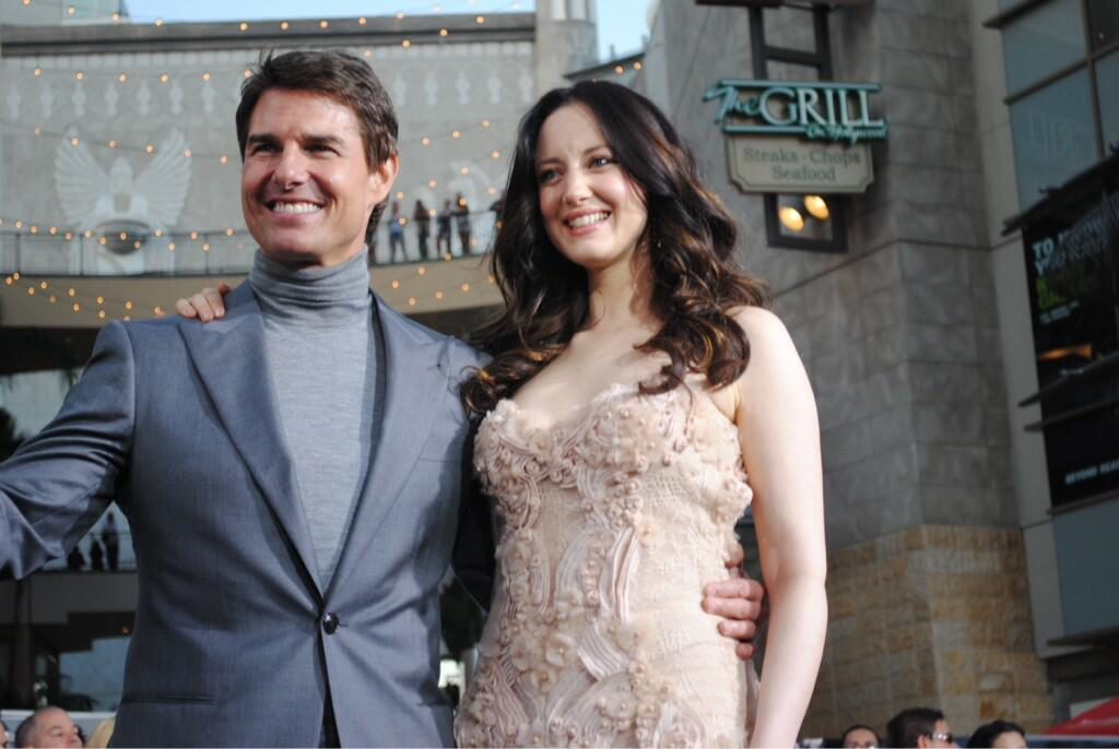 Twitter / OblivionMovie: .@TomCruise and #Oblivion actress ...