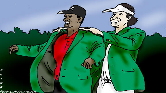 Twitter / espn: Eldrick @TigerWoods has one ...