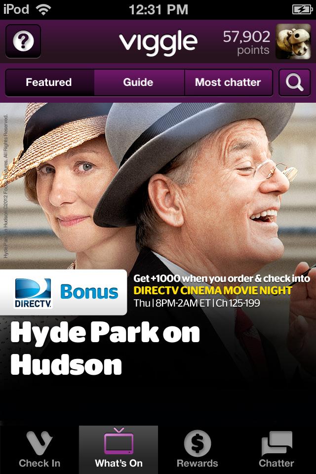Twitter / DIRECTV: Watch #HydeParkOnHudson tonight ...