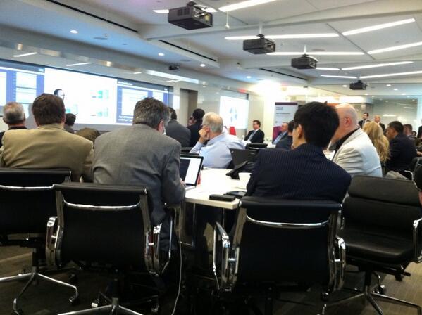 Analysts at #IBM #flashahead event: @rmfichera @ajbowles @calbraun @jyarmis @clabbyanalytics @benwoony @dvellante pic.twitter.com/CqpdUob8zB