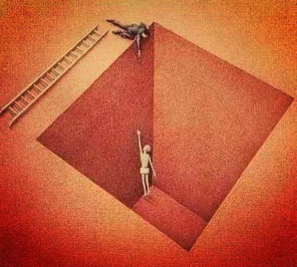 Картинка делают вид что помогают