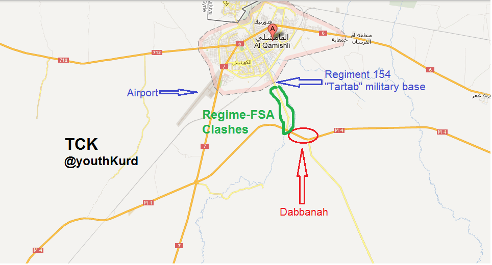 Developments In Qamishli City Transnational MiddleEast Observer - Qamishli map