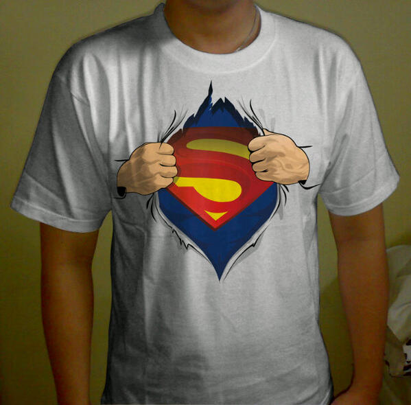 Kaos Anime Kartun On Twitter Dfreeads Kaos Berubah Superman Kaos