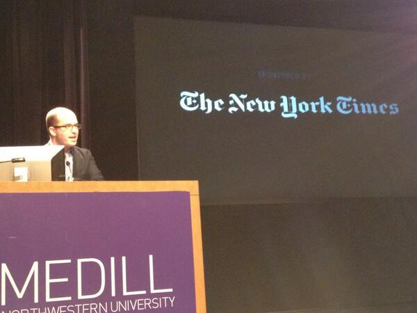 @brianstelter speaking at #mediarewired on where journalism is going pic.twitter.com/i3WFwZcQhe