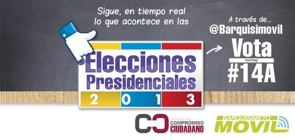 Afinando motores para el operativo electoral, en red, de @Barquisimovil #14A pic.twitter.com/jLlTIRXKmm