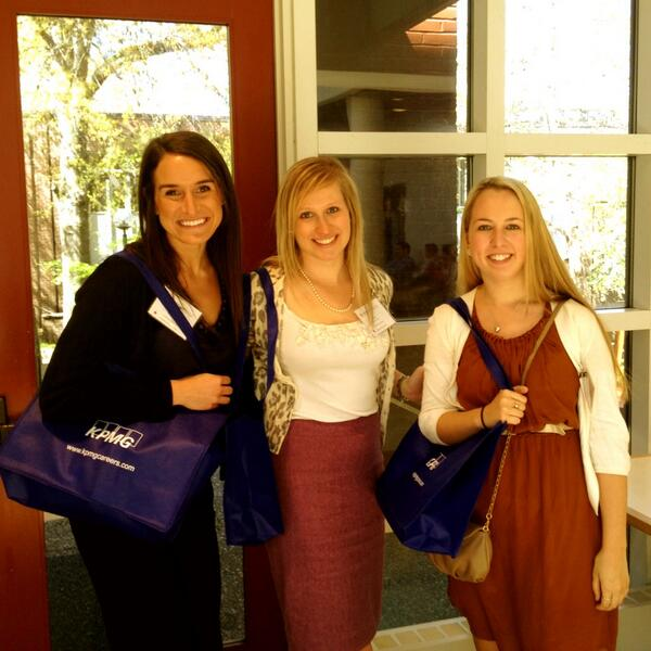Showing off their #kpmg swag! #owenwelcome pic.twitter.com/BV6nTkl7bc