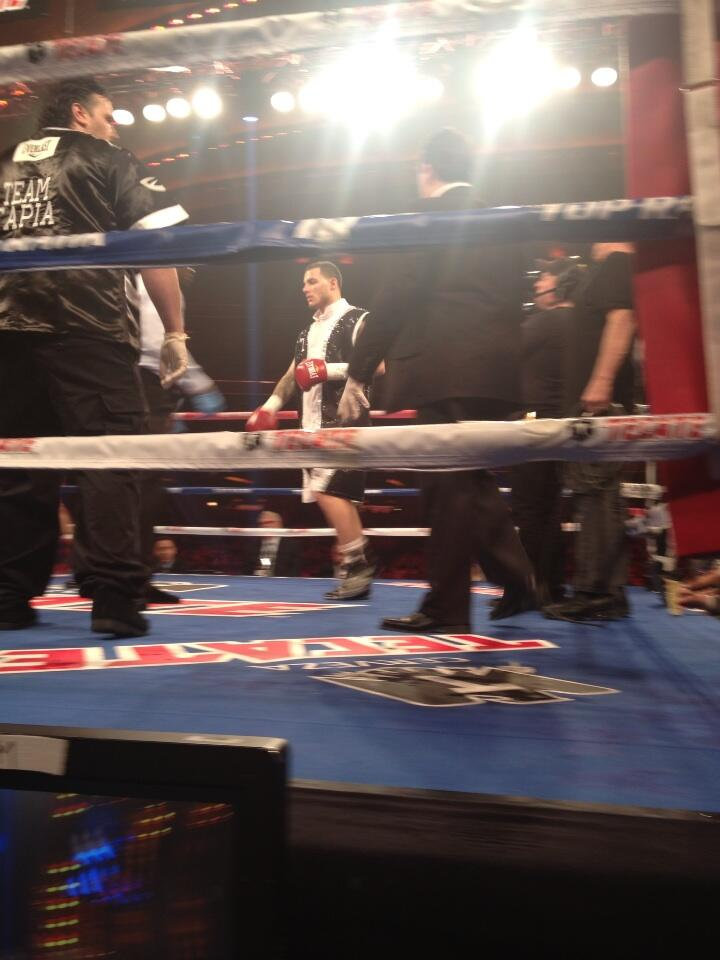 Twitter / CrystinaPoncher: Glen Tapia now in the ring ...