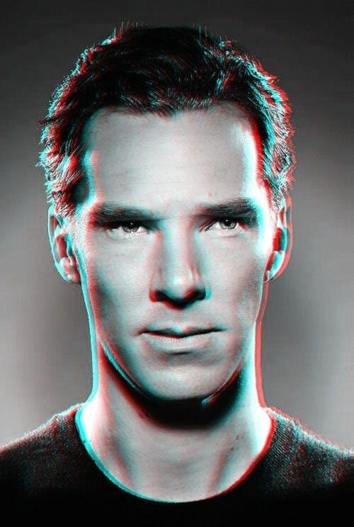 Twitter / bonniegrrl: #BenedictCumberbatch in 3-D! ...