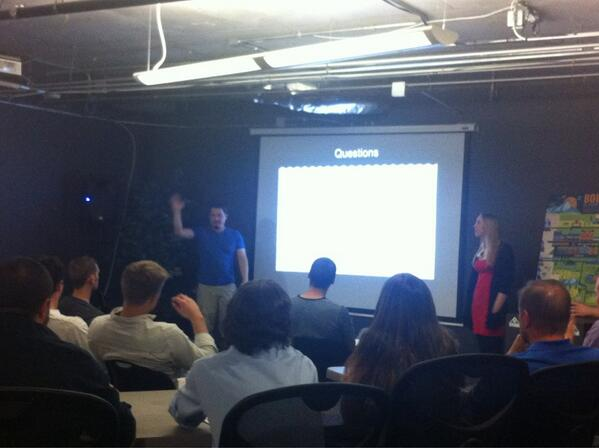 #swboulder demo: Inbox Zero - make email engaging & fun. Data + Training = Coherent experience. pic.twitter.com/suufbJry9c