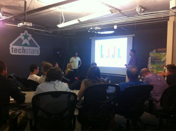 #swboulder demo: Massage Today - mobile app to help licensed MTs find clients. Biz model is ads + booking fees. pic.twitter.com/FpfEA9dgfc
