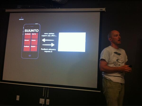 #swboulder demo: OptiBridge - Optimizing customer connections. Mobile SDK & API for client-side product apps. pic.twitter.com/y6JkuOLWpS