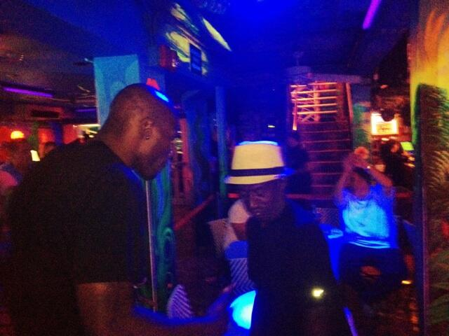 Twitter / ochocinco: PorkChop hitting the Josephine ...