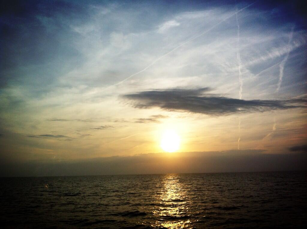 Twitter / Mimo1001: @MargaretOrr Beautiful sunset ...