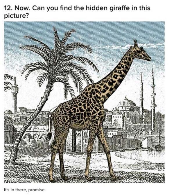 Ika Natassa On Twitter Can You See The Hidden Giraffe Http T