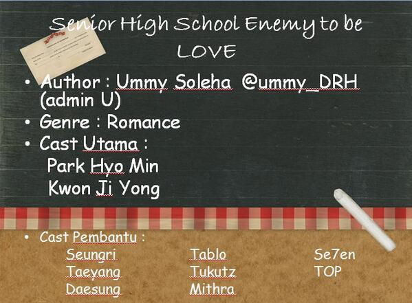 Senior High School Enemy to be LOVE