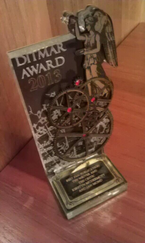 2013 Ditmar Awards: Australia's science fiction and fantasy awards