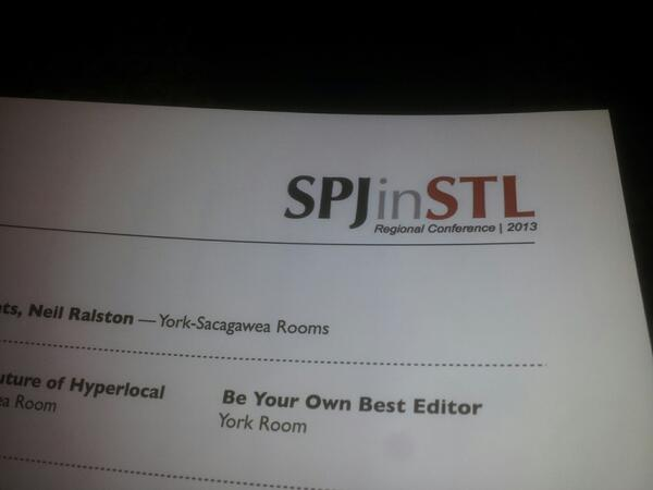 @zwsilva & I are honored to represent @wnurnews @WNUR893 & @NorthwesternU at #spjinstl2013 @stlspj pic.twitter.com/g0EeUwVeLf