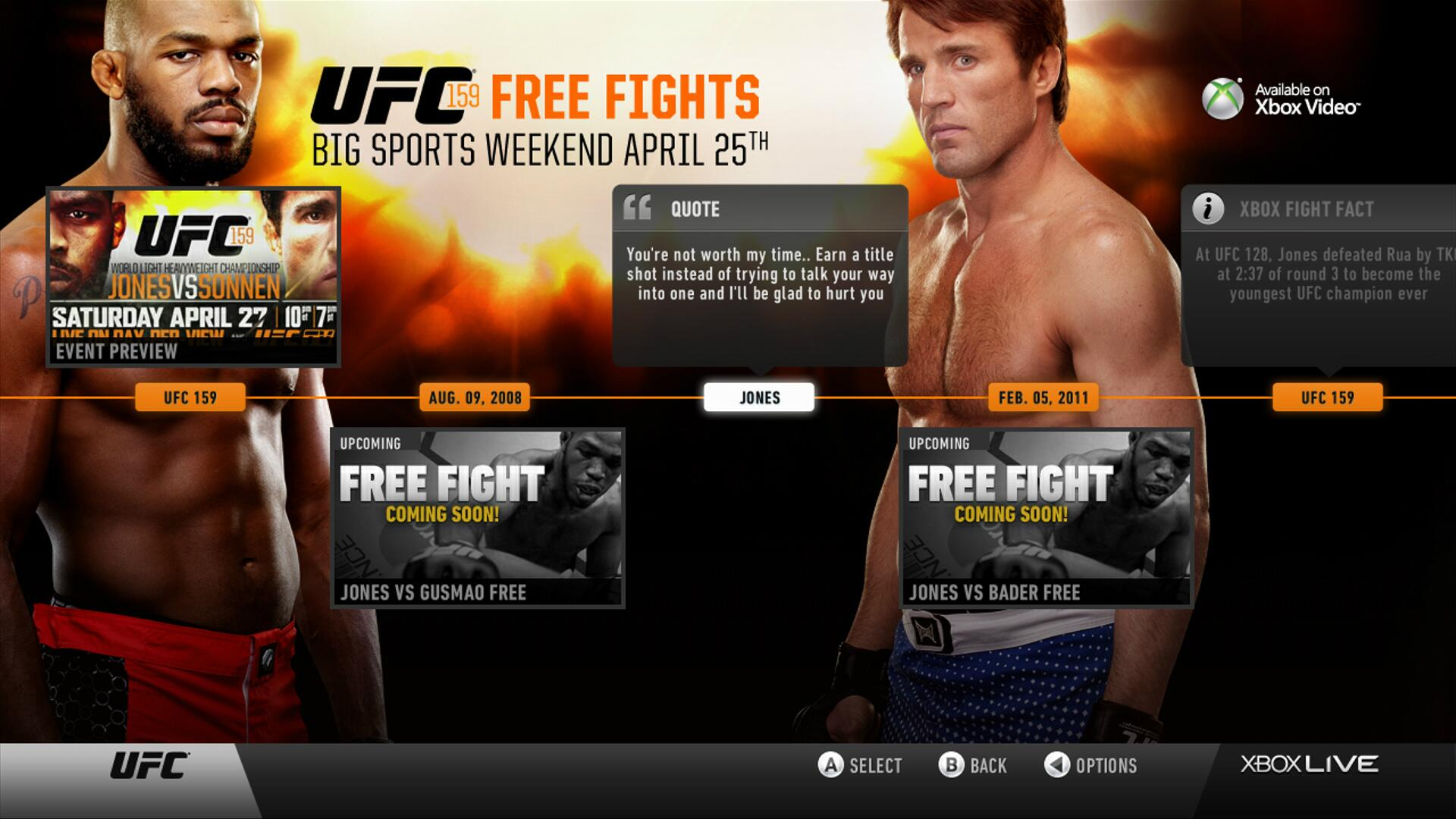 Twitter / RichFranklin: get 7 FREE fights as part of ...
