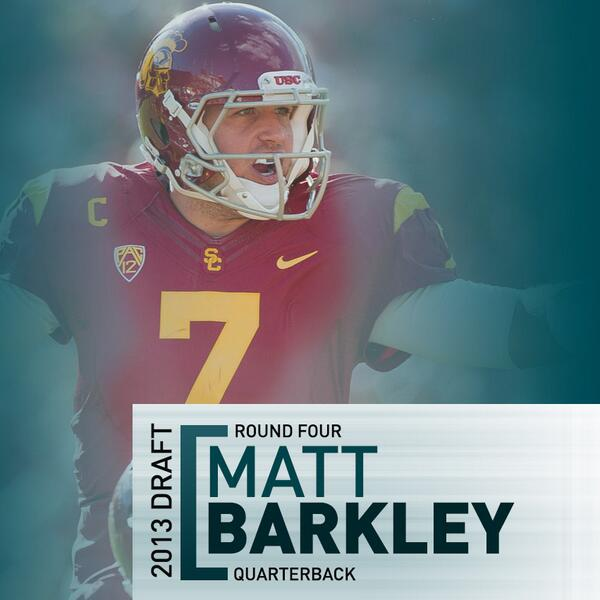 matt barkley eagles jersey