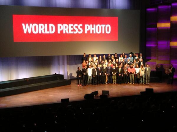 Alle winnende fotografie Prinsen en Prinsessen op het podium vh Muziekgebouw ah IJ #WPPh_AD13 pic.twitter.com/Ye8r3Dt0s7