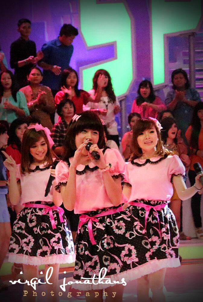Picture] Cherrybelle at Spektakuler Trans TV | 16-04-2013