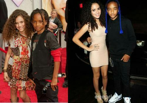 Madison Pettis And Jaden Smith Kissing Sexy Black Celebs on T...