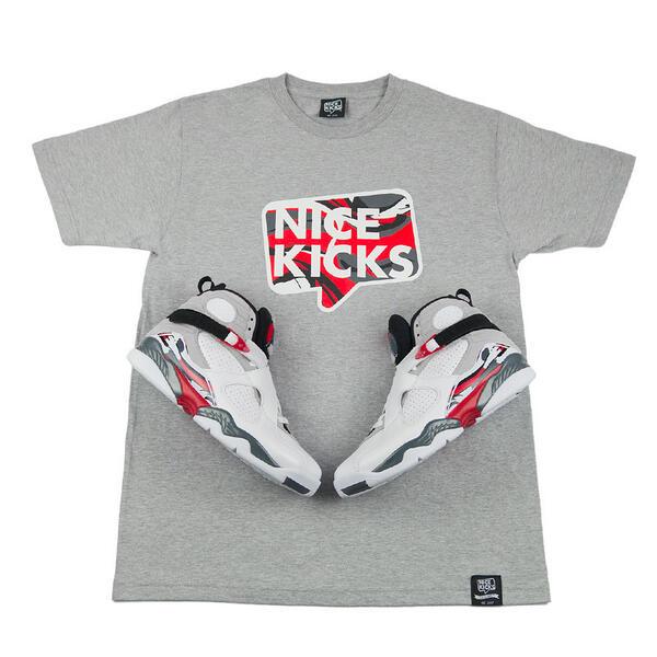 We're giving away a pair of 'Bugs Bunny' Air Jordan 8s + matching Nice Kicks T-shirt. RT & follow to enter giveaway!