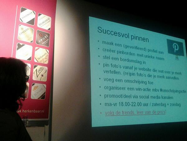 @iArchana verteld over succesvol pinnen #smc0412 pic.twitter.com/nQ8yEABOin
