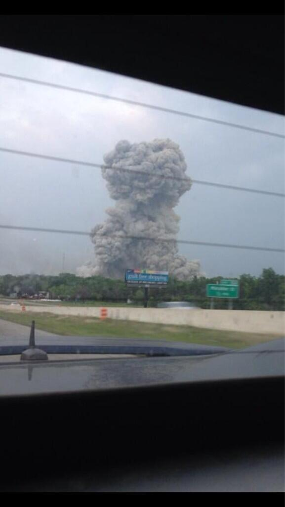 Thumbnail for Waco fertilizer plant explosion