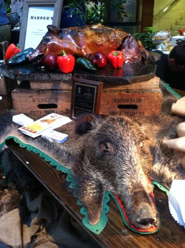 Well deserved! RT @ncflix: @HarpersCLT goes whole hog to win best table display @TasteNationCLT #NoKidHungryCLT pic.twitter.com/xXQ8Qb3orB